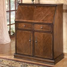 Hamlyn Traditional Drop Front Secretary By Ashley Furniture