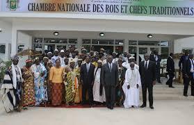 chambre nationale chambre nationale des rois et chefs traditionnels un instrument