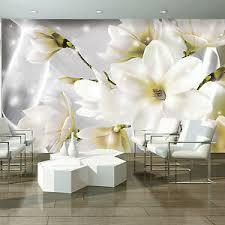 fototapete blumen 3d lilie abstrakt orchidee wohnzimmer