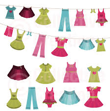 Pix For Summer Clothes Clipart Kids