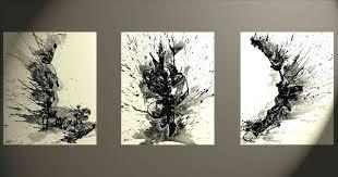 Art Abstract Original X Painting Rhhotfrivcom Black Modern Paintings Of Nature And White