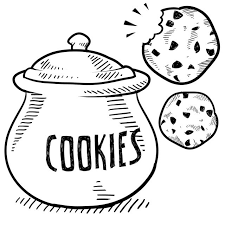 cookie drawing