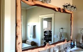 wall mirrors light oak wall mirror solid wood wall mirror large