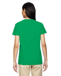 new gildan women u0027s heavy cotton short sleeves ladies v neck t