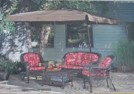 square offset patio umbrella w removable netting 8 5 x 8 5ft sold