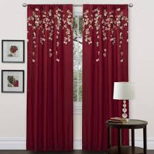 Absolute Zero Curtains Red by Interior Excellent Living Room Decoration Room Living Room