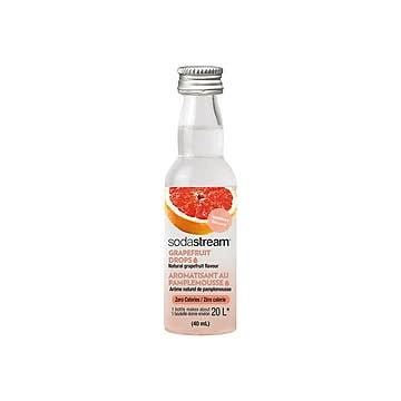 Sodastream Grapefruit Drops, Natural Flavor, Essence, Unsweetened - 1.36 fl oz
