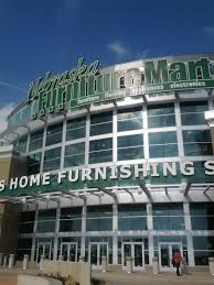 Nebraska Furniture Mart Huge nice furniture store at Legends Mall