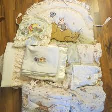 classic winnie the pooh crib nursery bedding diaper stacker 9