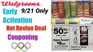 Walgreens Early Activation Deal | Hot Revlon Deal | Get Ready For 9/29 |  New Perk | Couponing Deals