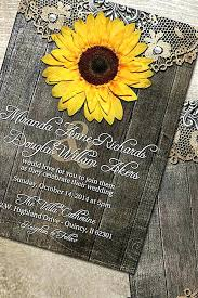 Lovely Sunflower Wedding Invitations Cheap And Shiny 51 Rustic Uk
