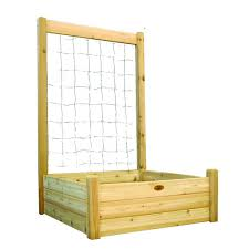 greenes fence 80 sq ft dovetail raised bed garden kit rc12t8s64b