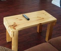 build a coffee table tv stand with reclaimed wood 6 steps with