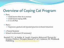 coping cat coping cat program 2018 cats