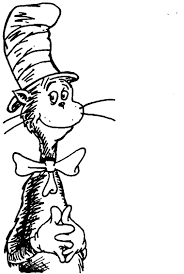 Cat In The Hat Coloring Pages Art Galleries And