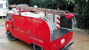1960's, VW Split Screen Fire Truck, Red, Black Interior | Classic Kombis