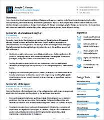 Ux Designer Resume 8 Free Word PDF Documents Download Examples Downloadable