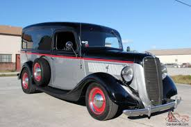 1937 Ford Panel Truck, Street Rod, Rat Rod Truck, 1934 Ford, Fuel ...