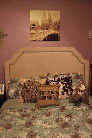 Lauren Conrad Bedding Headboard Love You To The Moon And Back Sven Pillow Pet Cow Adult Bedroom IdeasYoung