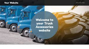 Example 15 Truck Accessories Website Template | GoDaddy