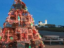 Decorative Lobster Traps Large by Lobster Trap Trees New England Lighthouse Stories