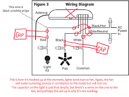Cbb61 Ceiling Fan Capacitor by Ceiling Fan With Light And Remote Wiring Contemporary Tinterweb Info