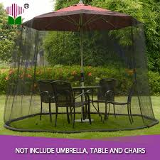 Mosquito Netting For 11 Patio Umbrella by 16 Patio Umbrella Mosquito Net Lot 6 Food Umbrella Covers