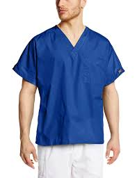 Ceil Blue Scrubs Cherokee by Amazon Com Cherokee Workwear Scrubs Unisex V Neck Tunic Top Clothing