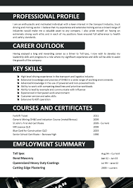 Cv For Beautician Resume Template Truck Driver Sample Is One Of The Best Idea You Make