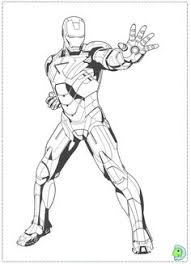 Iron Man Stops The Enemy Coloring Page From Category Select 27252 Printable Crafts Of Cartoons Nature Animals Bible And Many More