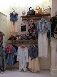 I Would Love To Have A Denim And Lace Swing Shop Display