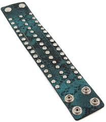 15 Width Leather Wristband