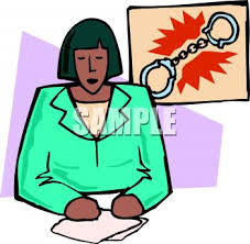 Royalty Free Clip Art Image Black News Anchor Giving A Crime Report