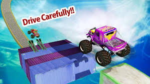 100 3d Monster Truck Games Stunt Driver Track Racing 3D For Android APK