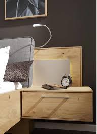 interliving schlafzimmer serie 1008 hänge nachtkonsole mit aufsatz