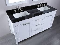 Two Faucet Trough Bathroom Sink by Bathroom Sink Bathroom Small White Trough Sink Two Faucets Under