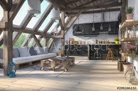 skandinavische nordische küche wohnzimmer esszimmer