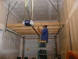 tips to build garage storage lofts diy design u0026 decor