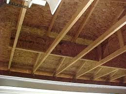 Vaulted Ceiling Joist Hangers by Ceiling And Rafters Tie Help The Garage Journal Board