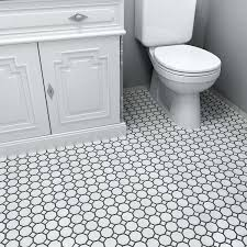 somertile fxlmowwt retro octagon porcelain floor and wall tile