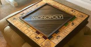 This Solid Wood Monopoly Board Is Hiding An Incredible Secret TOO Cool