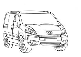 Coloriagetransportdessincamionnette Coloriages Pinterest