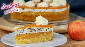 apfelkuchen mit stracciatella creme so lecker stracciatella torte sandras backideen