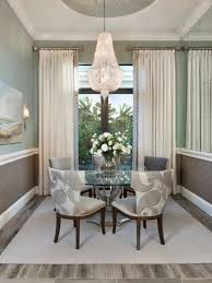 Dining Rooms Curtains Role In Interior Decoration Room Pertaining To Brilliant And Also Attractive