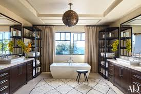 Get The Look: Master Bathroom Design Ideas From Kourtney ... Khloe Kardashian Home Decor Decorate Ideas Classy Simple To Interior Design Tips From The Kardashians Popsugar Get Look For Less On Khloes Home Indulgences Kourtney Kitchen Amazing Khlo And Kim Living Room Streamrrcom View Astonishing Best Idea Design Dope Closet Kourtneys Ott Playroom And More Intimate Bedroom Master Cool Realize Their Dream Homes In Designer Martyn Lawrence Bullard Decorating Top Fniture Decorating