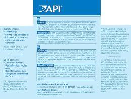 ph aquarium eau douce api ph test strips freshwater and saltwater aquarium