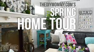 2016 Spring Home Tour Nature Inspired Vintage Farmhouse Decor Ideas