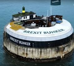 100 Spitbank Fort Solent ReBranded As Brexit Bunker In Paddy Power Advert With