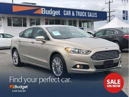 Used 2015 Ford Fusion All Wheel Drive, Navigation, Leather Seating ...