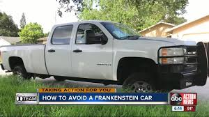 100 Wrecked Semi Trucks For Sale Buyer Beware Frankenstein Cars Built From Salvaged Vehicles